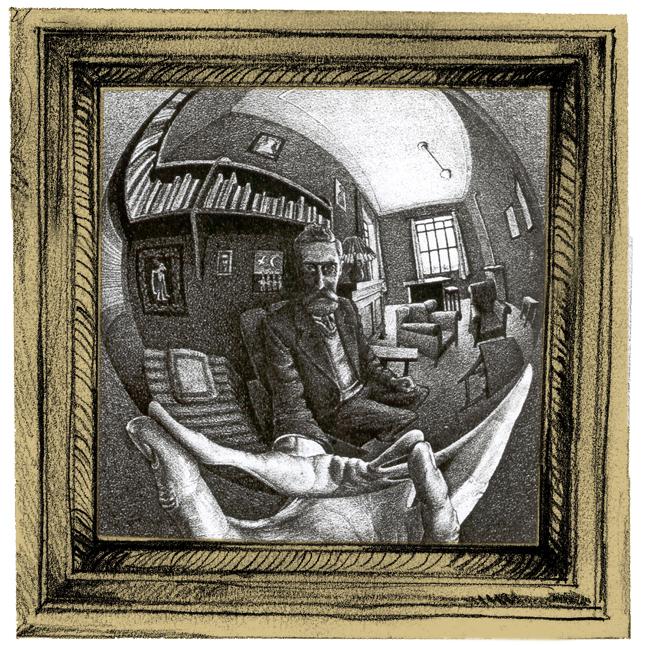 Autorretrato (Escher) - 1935